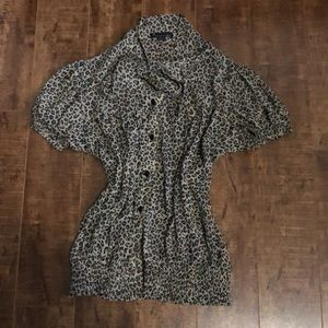 4 for only $15 leopard blouse
